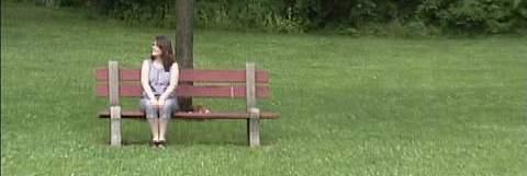 Jill on Bench