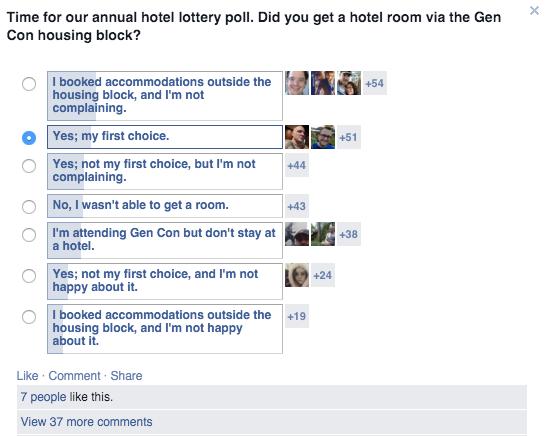 facebook polls